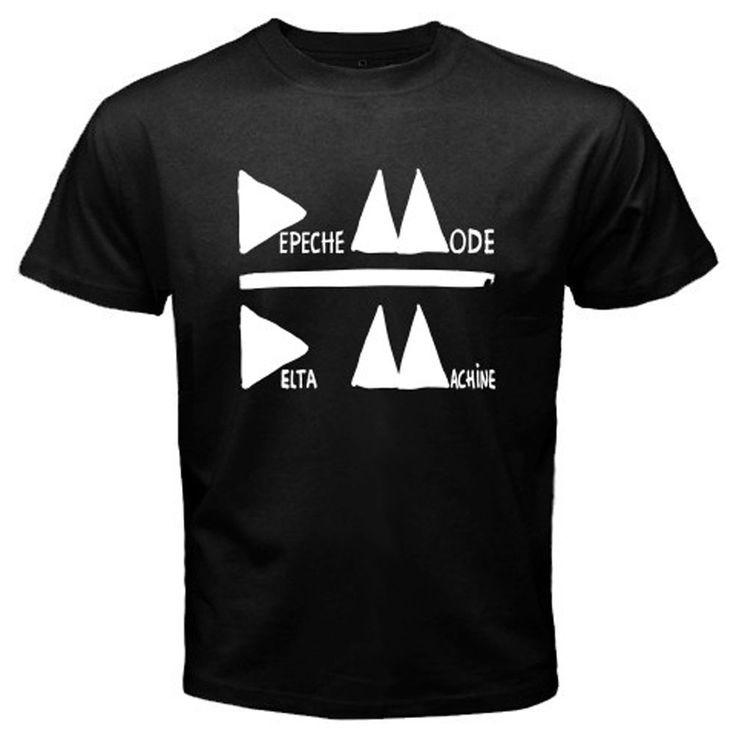 New DEPECHE MODE Delta Machine Electronic Band Men's Black T-Shirt Size S To 2XL Men T Shirt Great Quality Funny Man Cotton