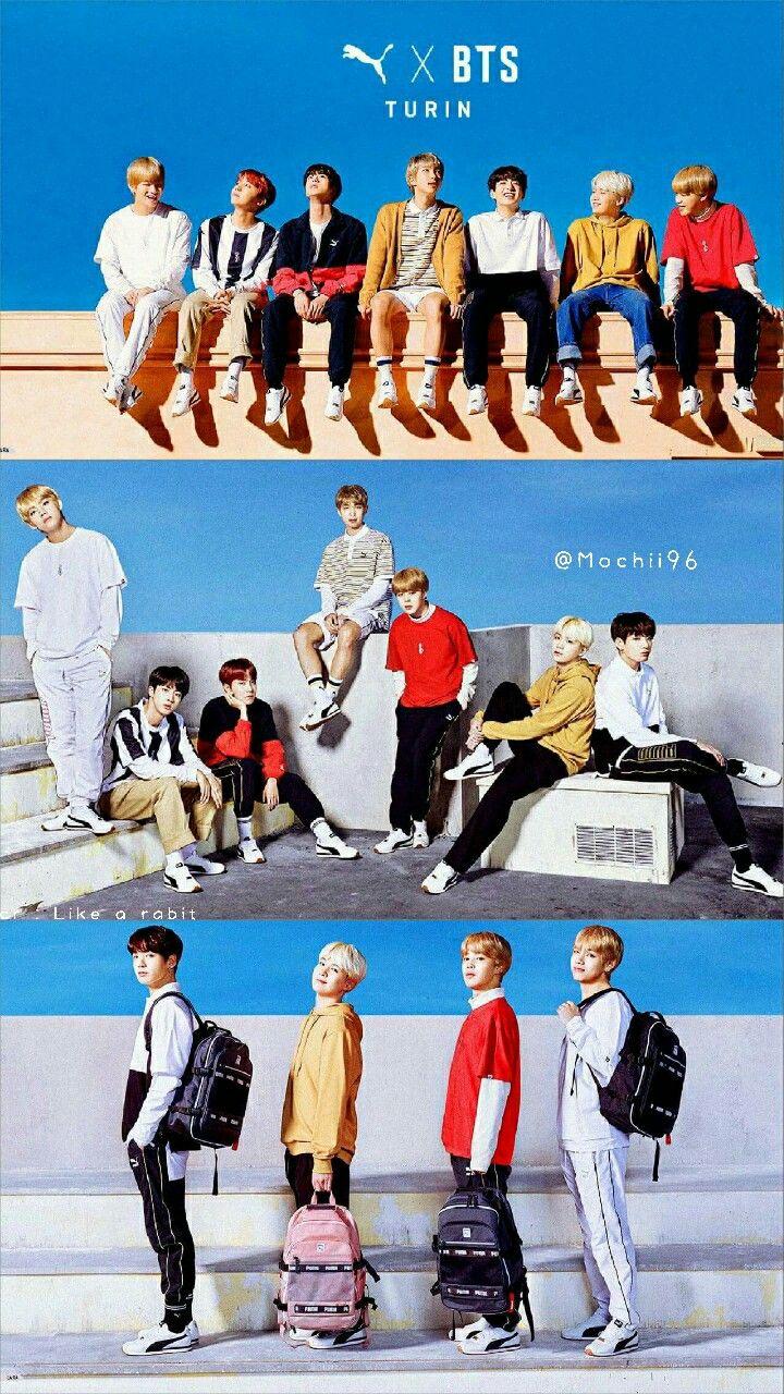 BTS X PUMA ♥♥
