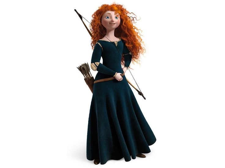 Princess Merida Is The Protagonist Of Disney Pixars 2012 Animated Feature Film Brave She First Scottish In Franchise