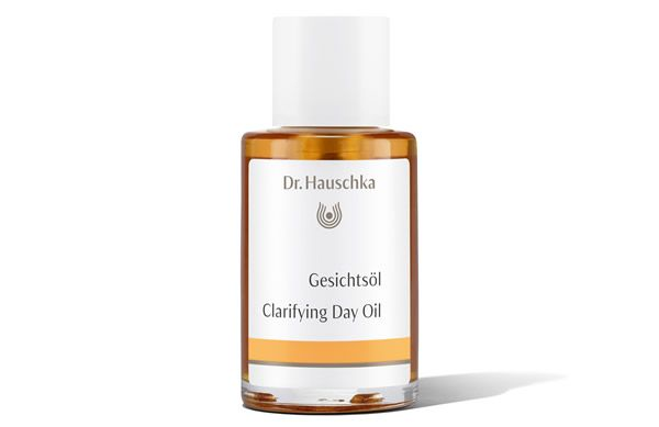 Switch your usual moisturiser for the Dr Hauschka Clarifying Day Oil. It hydrates and balances problematic skin to leave it feeling soft and smooth.