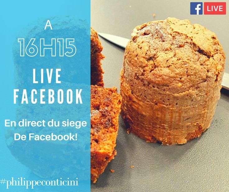 Live de rentrée exceptionnel ce 7 septembre , à 16h15 puisqu'il aura lieu dans les bureaux de Facebook !