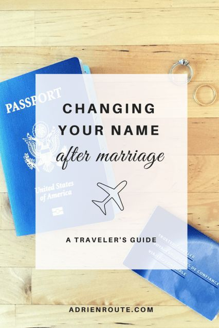 Name Change After Marriage Checklist, A Traveler's Guide to Changing Your Name - Adri En Route