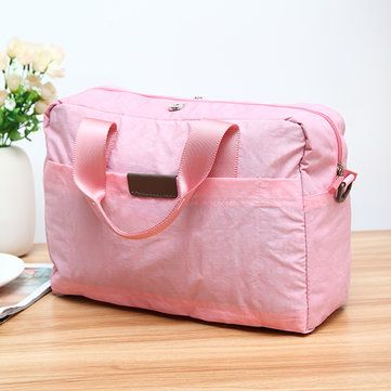 Nylon Waterproof Lightweight Travel Storage Bag Clothes Bag Wash Sports Cosmetic - US$25.83