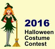 2016 Halloween costume contest!