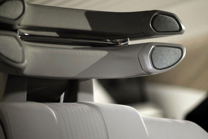 Peugeot HX1 Concept Headrest detail