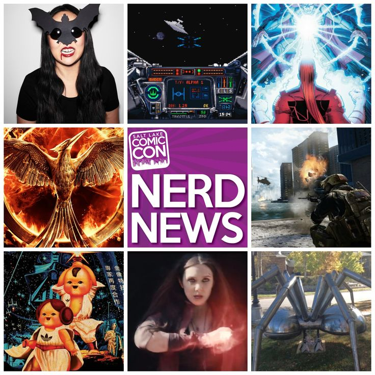 In today's Nerd News, Mockingjay Part 1 tickets go on sale, a new Battlefield game gets a 2016 release date and Marvel releases an alternate trailer for Avengers: The Age of Ultron. Plus, old school Star Wars video games, a fire-breathing spider, last-minute Halloween costumes and more! CLICK the photo to read all about it!