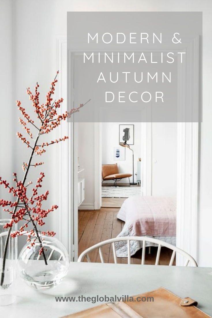 Scandinavian Modern Minimalist Decor for Autumn | minimalist ...