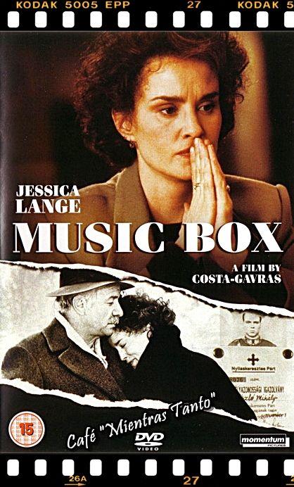 """Cine Sala """"Charles Chaplin"""" - La caja de música (1989) - Ingresa a la sala pulsando el Link: http://cinetramajuridica.blogspot.com/2013/12/la-caja-de-musica-1989-genero-intriga.html"""