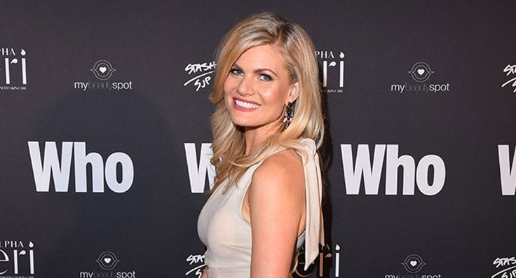 Bonnie Sveen brought a special guest to the WHO's Sexiest People Party