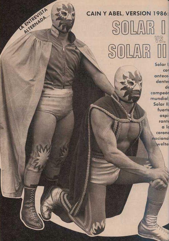 Vintage Lucha Libre
