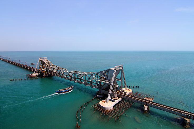 Pamban Bridge,Rameshwaram,India | Flickr - Photo Sharing!
