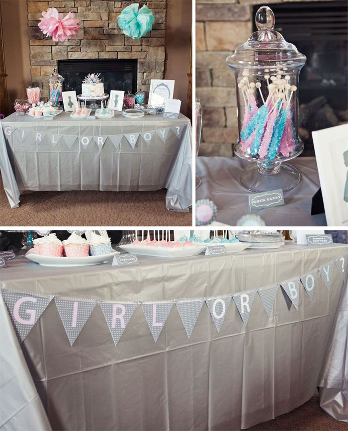 Baby Shower Reveal Party: 1000+ Ideas About Gender Reveal Party Decorations On