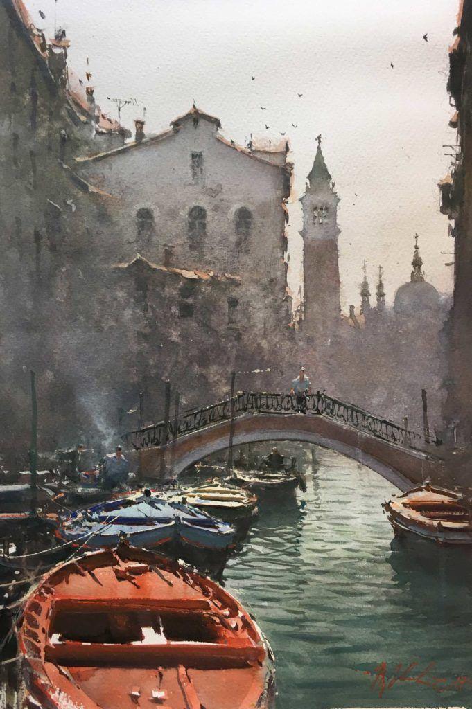 Plein Air Spotlight Joseph Zbukvic Watercolor Landscape