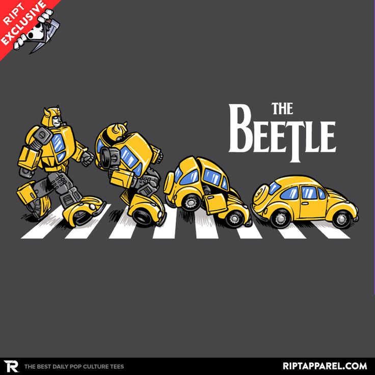 The Beetle T-Shirt - Transformers T-Shirt is $13 today at Ript!