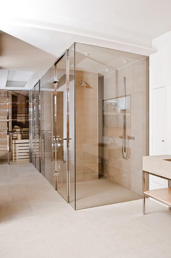 17 beste idee n over douchecabine op pinterest douche ruimtes - Glazen kamer bad ...