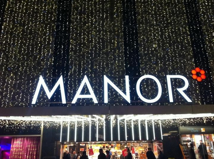 Grands Magasins Manor - The largest department store in #Geneva