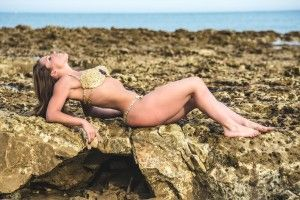 """A photo from a """"Mermaid"""" shoot I did in Brighton in June 2014 <3 What do you think?  www.luciecolt.com"""