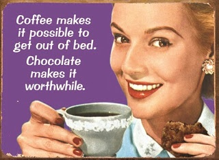 """Coffee and Chocolate -  """"hand in glove"""""""