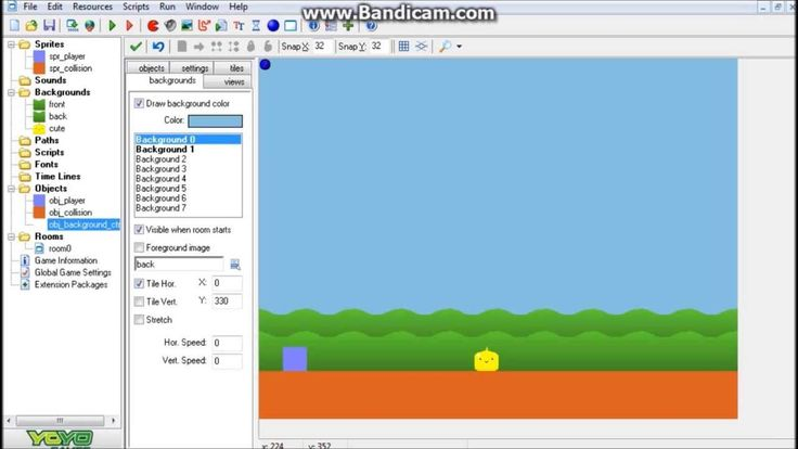In this tutorial I'll be showing how to add in controlled parallax scrolling into your games, sort of how you see in some of the Sonic or Mario games, enjoy ...