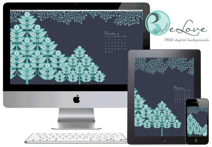 From me with eLove | free digital background | #free #digitalbackground #modernology #holiday #calender