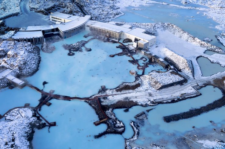 Blue Lagoon, Iceland. There are grottoes, steam rooms and an on-site restaurant, so it's easy to spend a whole half a day soaking in this otherworldly location (and given the fairly steep entry fee, it's probably best to do just that).