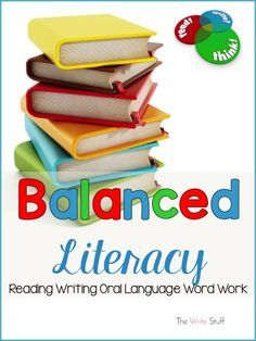 A great overview of what a balanced literacy classroom is with ideas and suggestions.