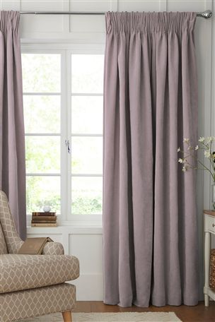 Buy Soft Velour Eyelet Curtains from the Next UK online shop