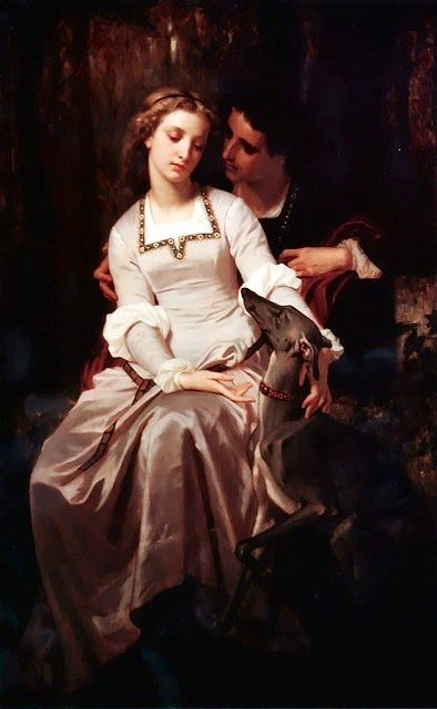 Tristan and Isolde, 1870 - Hugues Merle