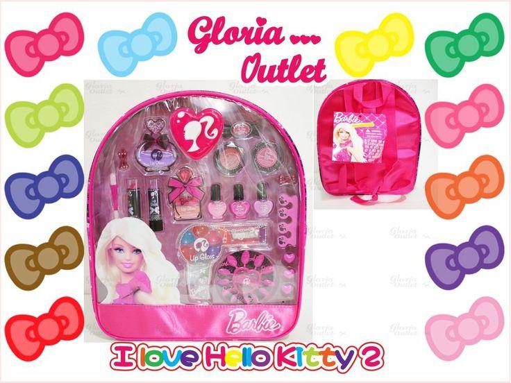 Barbie Beauty Backpack Makeup Kit Cosmetic Set Nail Polish Lip Glosses Blushes #barbie #chanel #dior #sisley #lancome #clinique #skincare #lancome #gucci #love #perfume #makeup #news #hot #beauty #Happy #Valentine #Day #perfume #love #family #helloKitty #Pink #bag #wallet #purse #shoes #fashion #perfumes #handbag #pefume #beauty #gift  #Nike #Wedding #easter