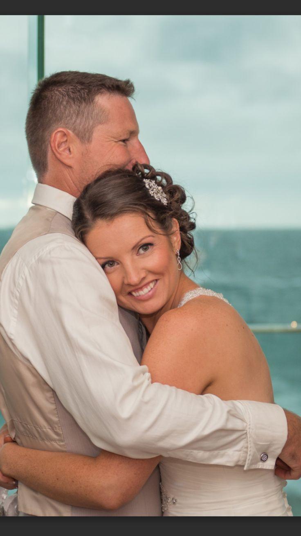 Bride and Groom www.makeupandhairbyhannah.com