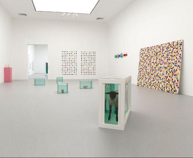 Damien Hirst Mind You art instillation Qatar Al Riwaq Doha