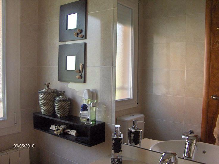 Espejos malma decorados ba o cajas decoradas carteles malmas pinterest decorar ba os - Decorar espejo bano ...