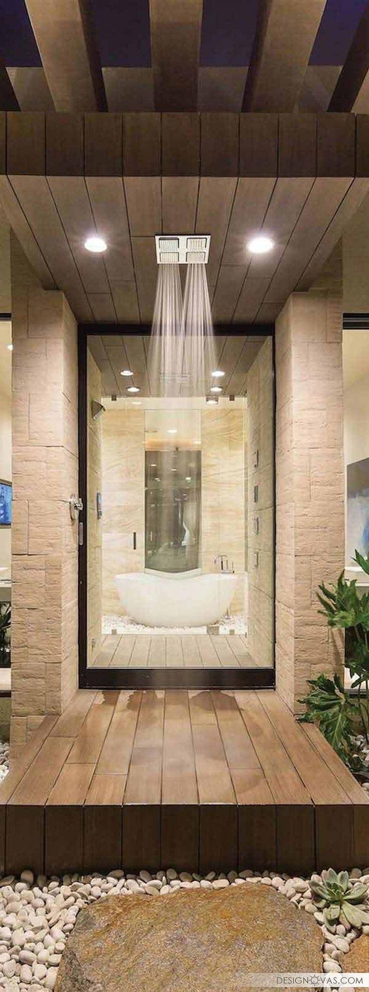 Bathroom rain showers - The 25 Best Rain Shower Bathroom Ideas On Pinterest Amazing Bathrooms Rain Shower And Waterfall Shower