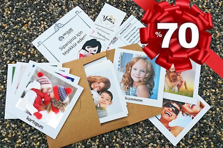 36 adet Pola Kart %70 indirimle KARGO DAHİL 12 TL Son gün 18 Aralık! İlk 1000 sipariş için geçerli bu fırsatı kaçırma!  Tıkla, fotoğraflarını yüklemeye hemen başla: https://maxline.com.tr/fotograf-baski/pola-kart-36-adet-10x10-cm.html