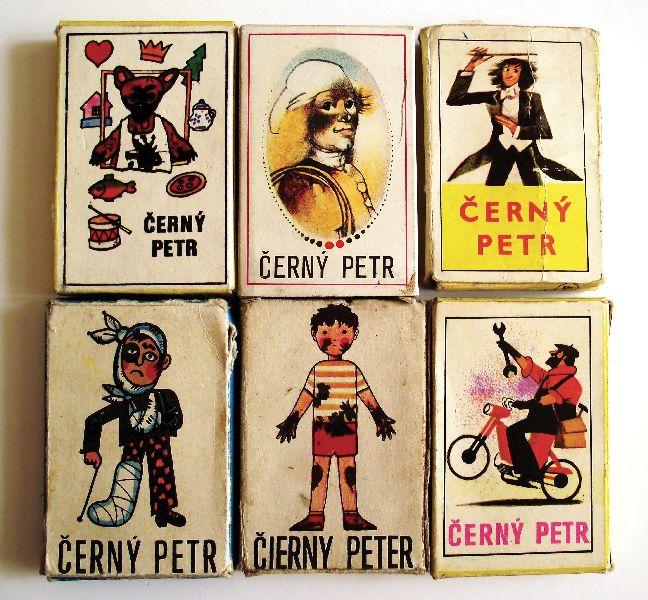 Hrací karty Černý Petr