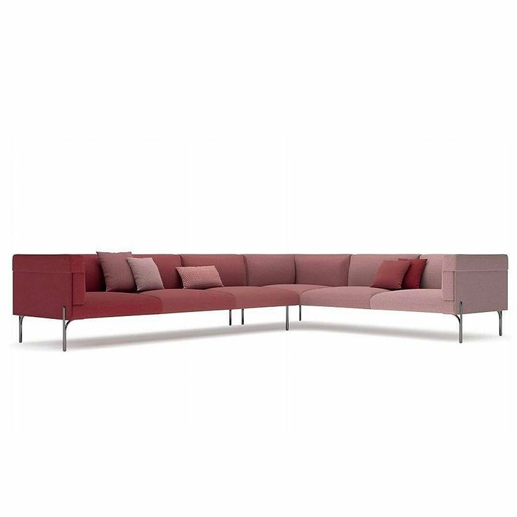 #fendicasa presents the six shades of palmer sofa designed by #toannguyen that features a gradient from an intense red to a delicate rose color. . . . #MDW2017 #milandesignweek #salonedelmobile2017 #milandesignweek2017 #mdw #MILANODESIGNWEEK #milanodesignweek17