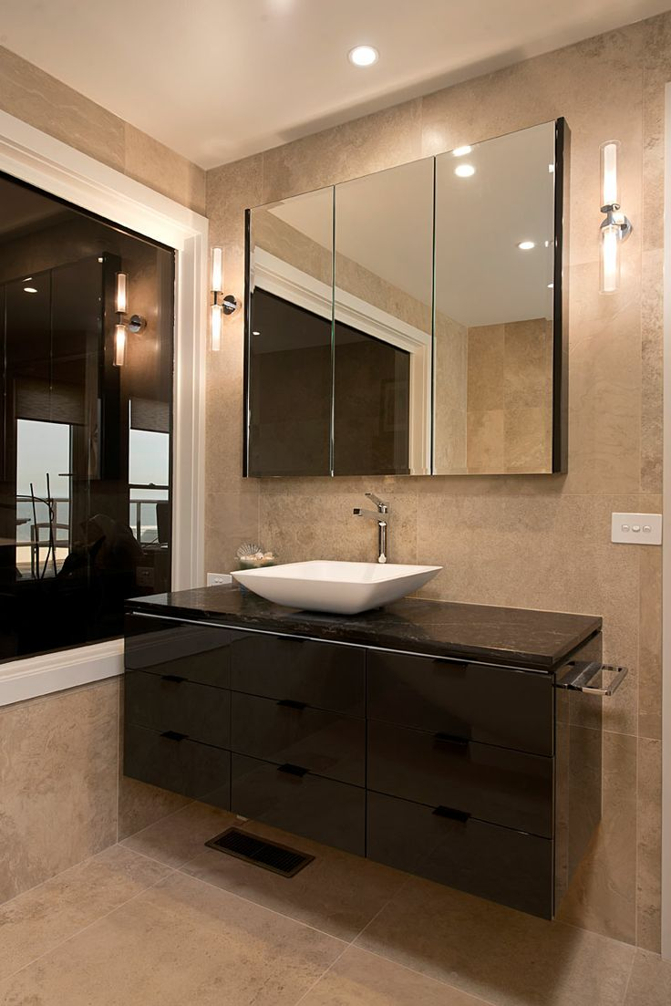 A Bathroom Vanity That Is Both Functional And Stylish. This Vanity Is Part  Of The