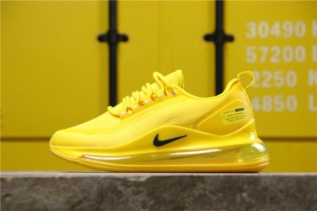 Men's Nike Air Max 720 Yellow Running