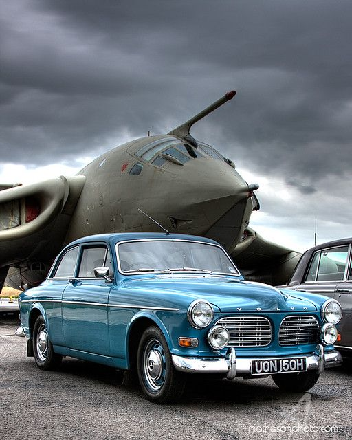 https://flic.kr/p/6FVChL | Victor Amazon | Volvo Amazon & Handley Page Victor at Yorkshire Air Museum, hosting the East Yorkshire Thoroughbred Car Club 2009. www.yorkshireairmuseum.co.uk www.eytcc.org.uk Further info: XL231, Lusty Lindy, the prototype for the B.2 (bomber) to K.2 (tanker) conversion. As featured on  Jalopnik and Auto123