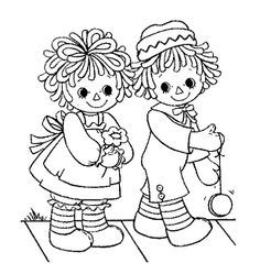 the 507 best images about ragdolls on pinterest sock monkeys raggedy ann and andy coloring pages