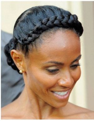 Goddess braids   Natural Hair