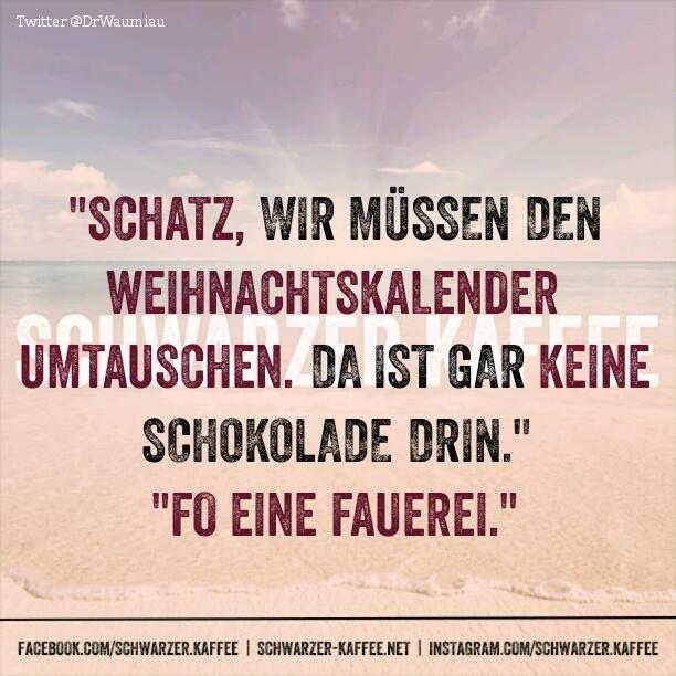 WEIHNACHTSKALENDER - SCHWARZER-KAFFEE