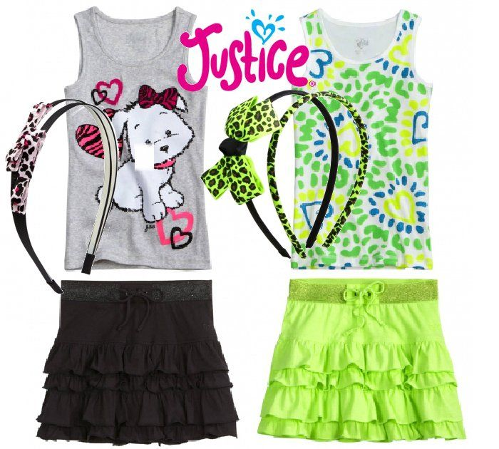justice for girls | Girl Fashion Find | Shopping at Justice for Girls - 107 Best Justice Images On Pinterest