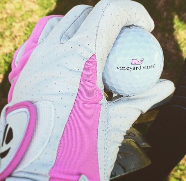 Preppy Vineyard Vines golf ball #VV #VVgolf