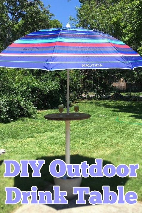 Make an Outdoor Drink Table Your Guests Will Love