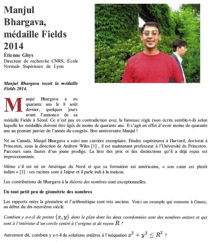 Bhargava Manjul - page 1