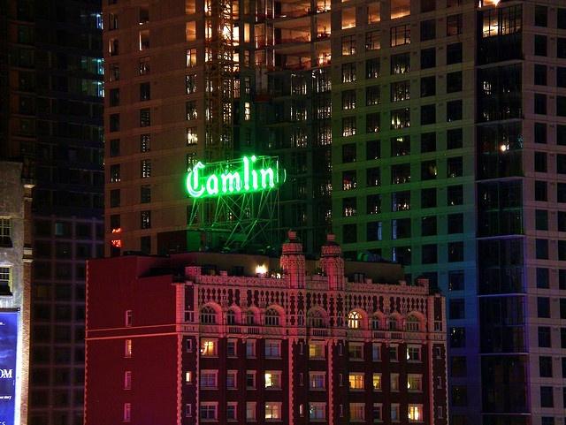 Camlin Hotel in downtown Seattle  Fun times at the Camlin!