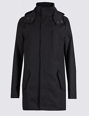 Bonded Cotton Rich Parka with Stormwear™