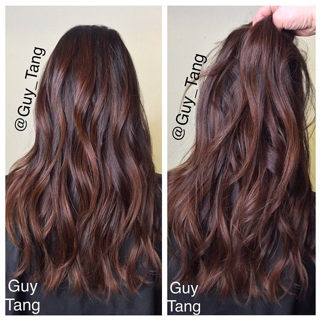 #Fbf one of the reasons I love doing subtle tone on tone colors is that is healthier for the hair versus dramatic contrast! This looks great on levels 1-5 hair! I choose level  6-8 toners with choices of Ns, Mochas, Red Browns.