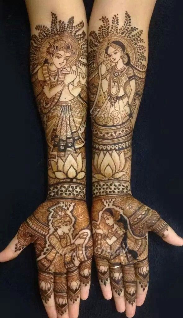 Indian Bridal Henna Designs: 278 Best Bridal Henna Images On Pinterest